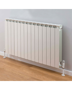 TRC Mix Radiator 690mm High x 1220mm Wide, 15 Sections, White MIX69W-15