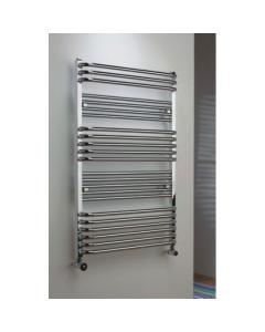 TRC Poll Heated Towel Rail 1055mm H x 450mm W -Chrome POLL1045C