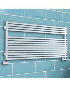 TRC BDO Sitar Heated Towel Rail 543mm H x 1220mm W - White SITBDO5412W