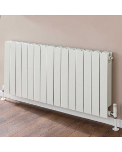 TRC VIP Radiator 440mm High x 1220mm Wide, 15 Sections, White VIP44W-15
