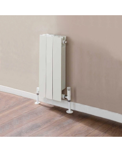 TRC VIP Radiator 590mm High x 260mm Wide, 3 Sections, White VIP59W-3