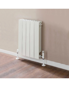 TRC VIP Radiator 690mm High x 420mm Wide, 5 Sections, White VIP69W-5