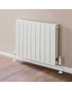 TRC VIP Radiator 690mm High x 740mm Wide, 9 Sections, White VIP69W-9