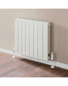 TRC VIP Radiator 790mm High x 660mm Wide, 8 Sections, White VIP79W-8