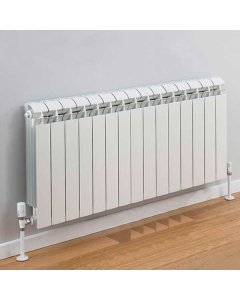 TRC Vox Radiator 590mm High x 1220mm Wide, 15 Sections, White VOX59W-15