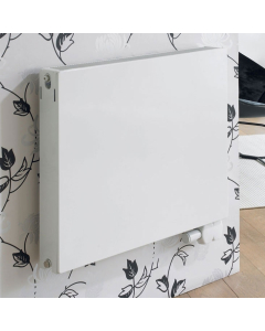 Ultraheat Planal PSSHorizontal Radiator, 700mm H x 700mm W, White 7PSS700W