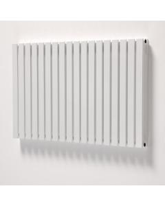 Ultraheat Linear Double DesignerHorizontal Radiator, 600mm H x 1222mm W, White LD623W