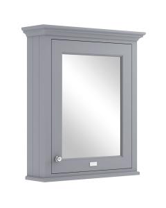 Bayswater Plummett Grey Bathroom Cabinet 750mm High x 650mm Wide BAY1040