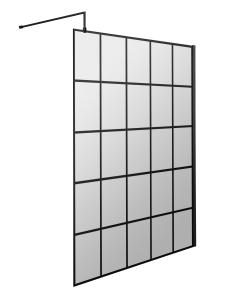 Hudson Reed 1400mm Framed Wetroom Screen - WRSF14 WRSF14