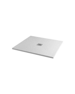 MX Minerals 900 x 900mm Square Ice White Shower Tray - X1A X1A