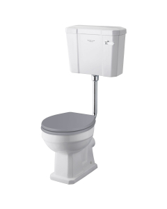 Bayswater Fitzroy Low Level Toilet with Lever Cistern (excluding Seat) BAY1024