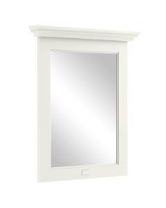 Bayswater Pointing White Bathroom Mirror 700mm High x 600mm Wide BAY1051