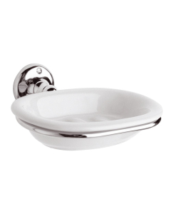 Bayswater Traditional Soap Dish Chrome BAY1161