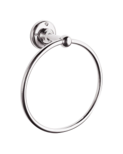 Bayswater Traditional Round Towel Ring Chrome BAY1159