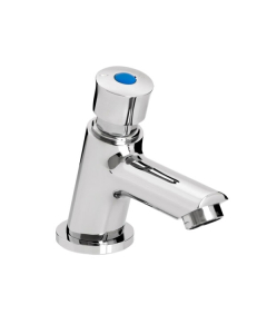 Bristan Single Luxury Soft Touch Timed Flow Basin Tap Z2 LUX 1/2 C